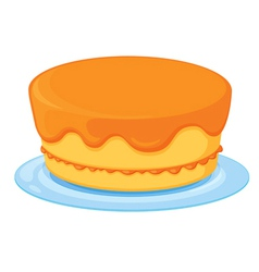 a cake vector image vector image