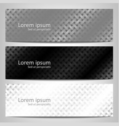 abstract monochrome background brochure template vector image