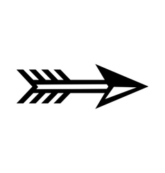 Arrow for archery icon simple style vector image