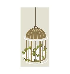 Icon cage vector