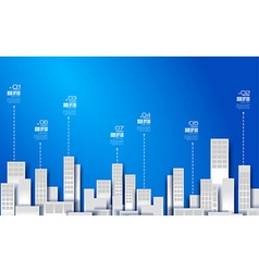 Infographic Layout for modern business data vector