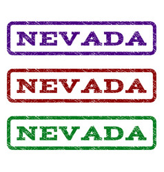 Nevada watermark stamp vector