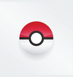 Pokeball pokemon go vector