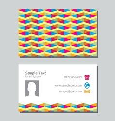 Businessman card4 resize vector image