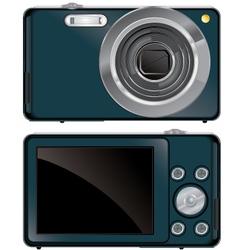 compact digital camera vector image vector image