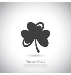 Trefoil symbol icon or logo template vector image
