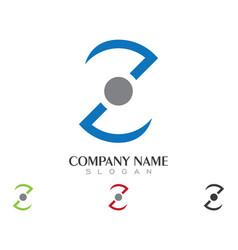 Business corporate z letter logo design vector