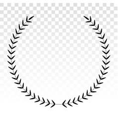 Laurel wreath - symbol victory vector