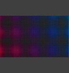 Led video wall screen texture background blue and vector