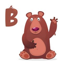 Letter b is for bear vector