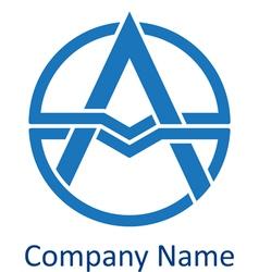 logo letter vector image