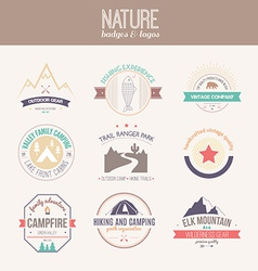 Nature Logo Collection vector