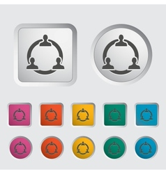 Network icon vector image vector image