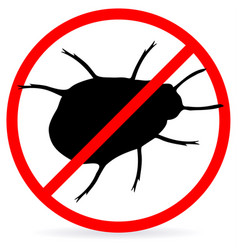no bugs vector image