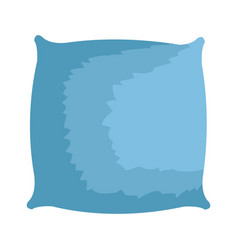 Pillow cushion isolated icon vector