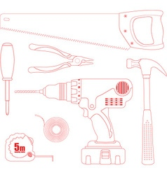 Repair Tool Set vector