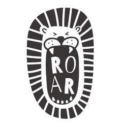 roar vector image