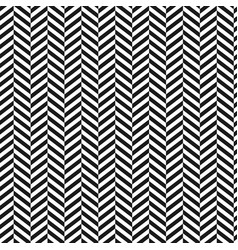 chevron backgroundblack and white stripped vector image