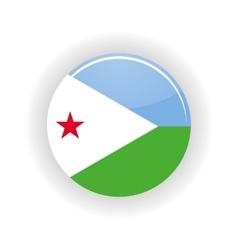 Djibouti icon circle vector