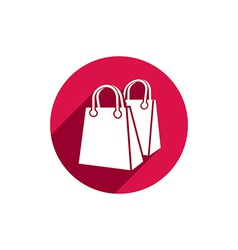 Shopping bag icon isolated vector image