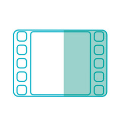 Video player symbol vector