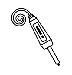 electronic repair hardware pc linear vector image
