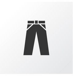 trousers icon symbol premium quality isolated vector image vector image