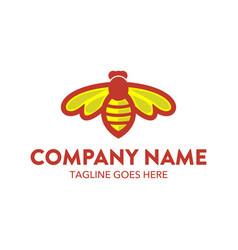 Bee logo-9 vector