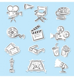 Cinema graphics vector