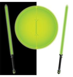 fantasy shield and swordsfifth variant vector image