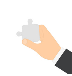 man human hand vector image