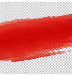 red blot vector image