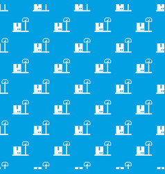 scales for cargo pattern seamless blue vector image