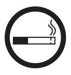 smoking area zone vector image