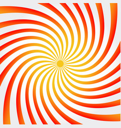 Spiral twisting background pattern in square vector