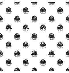 truffle pattern seamless vector image