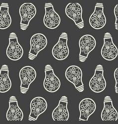 light bulb pattern eureka lamp new idea for vector image vector image