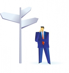 business people outlines vector image