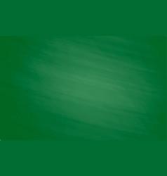 green chalk board for design vector image