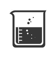 Beaker chemical laboratory glass vector