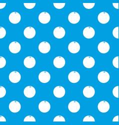 mandarin pattern seamless blue vector image