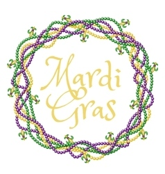Mardi gras greetings vector