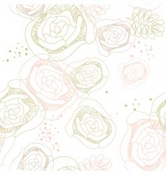 romantic wallpaper vector image