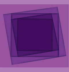 Shades purple square background vector