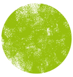 Textured green dot vector