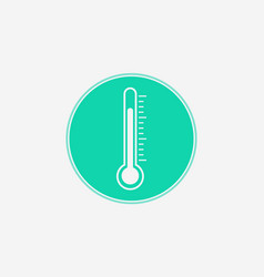 thermometer icon sign symbol vector image
