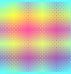 Triangle glowing pattern seamless vector