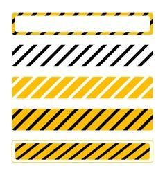 Web under construction set vector image