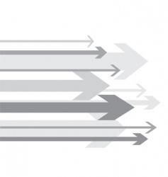 arrows background vector image vector image