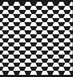 Hexagon geometric seamless background vector